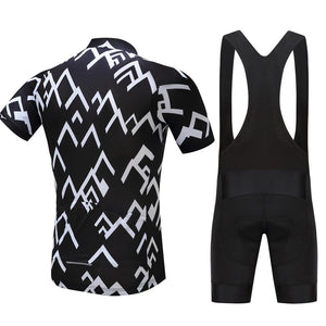 TrendyCycling Men's Peak - Men's Short Sleeve Jersey Set