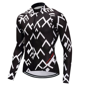 TrendyCycling Men's Peak - Men's Thermal Jersey