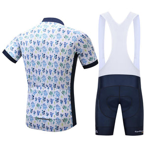 TrendyCycling Men's Petal - Men's Short Sleeve Jersey Set