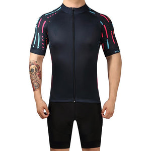 TrendyCycling Men's Ropa - Men's Short Sleeve Jersey Set