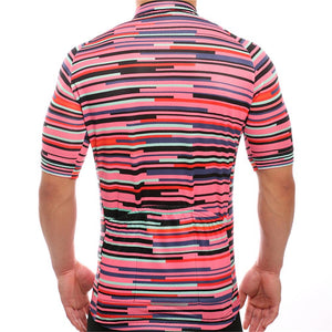 TrendyCycling Men's Rose Division - Men's Short Sleeve Jersey
