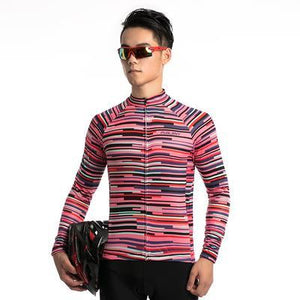 TrendyCycling Men's Rose Division - Men's Thermal Jersey