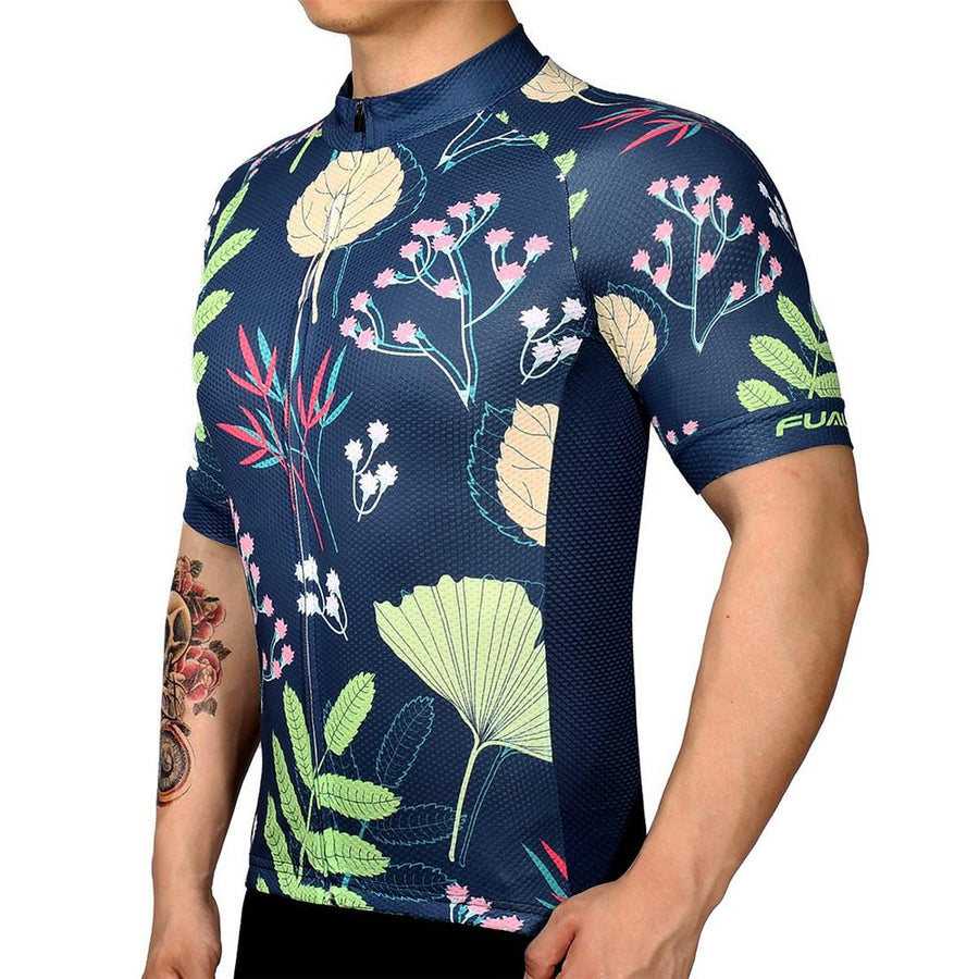TrendyCycling Men's S / Navy Seeding - Men's Short Sleeve Jersey