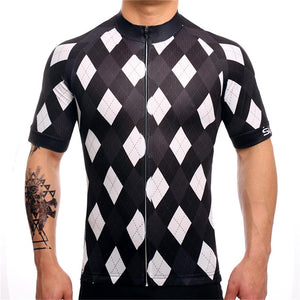 TrendyCycling Men's Solitaire - Men's Short Sleeve Jersey Set