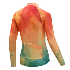 TrendyCycling Men's Summertime - Men's Long Sleeve Jersey