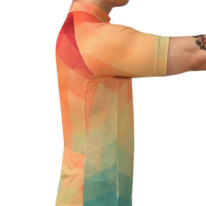 TrendyCycling Men's Summertime - Men's Short Sleeve Jersey