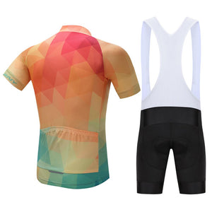 TrendyCycling Men's Summertime - Men's Short Sleeve Jersey Set