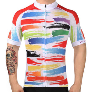 TrendyCycling Men's Team Downhill - Men's Short Sleeve Jersey