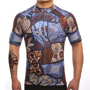 TrendyCycling Men's Vintage - Men's Short Sleeve Jersey Set
