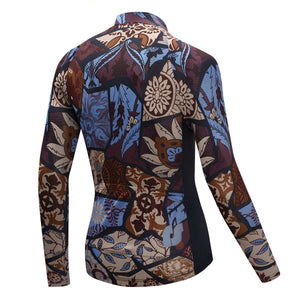 TrendyCycling Men's Vintage - Men's Thermal Jersey