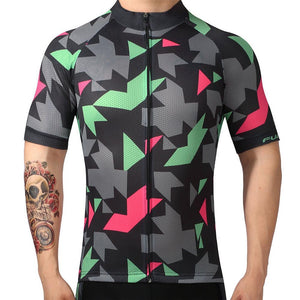 TrendyCycling Men's XS / DarkGray Maillot - Men's Short Sleeve Jersey