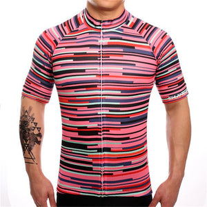 TrendyCycling Men's XS / PaleVioletRed Rose Division - Men's Short Sleeve Jersey