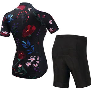 TrendyCycling Women's Caitlin - Women's Short Sleeve Jersey Set