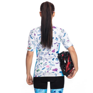 TrendyCycling Women's Mayflower - Women's Short Sleeve Jersey