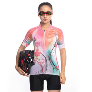 TrendyCycling Women's Queenie - Women's Short Sleeve Jersey