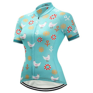 TrendyCycling Women's XS / DarkTurquoise Dalila - Women's Short Sleeve Jersey