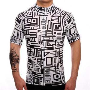 TrendyCycling XS / Black Framework - Men's Short Sleeve Jersey