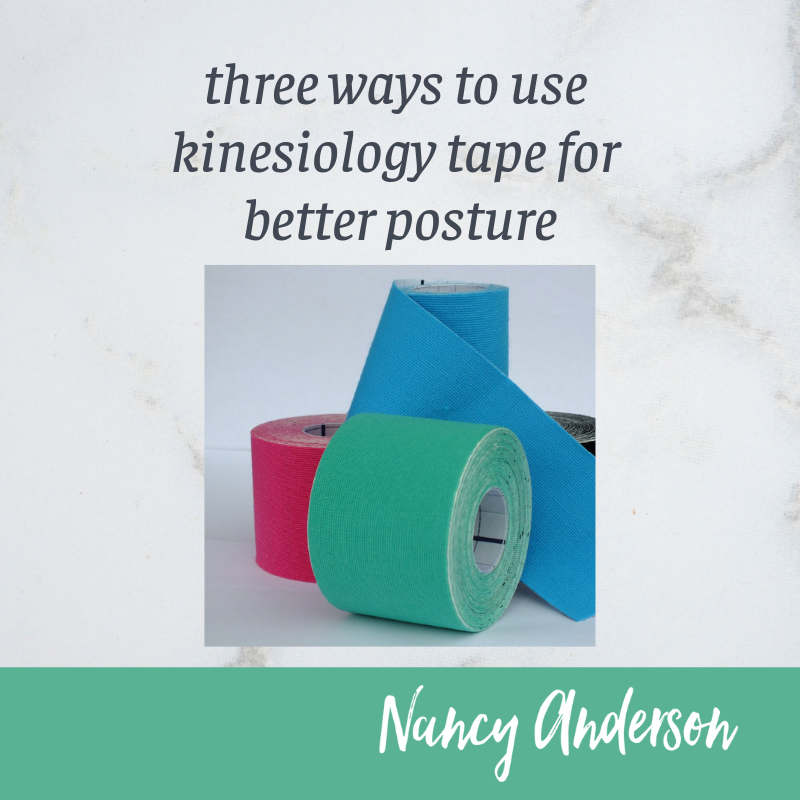 3 Ways to Use Kinesiology Tape for Better Posture