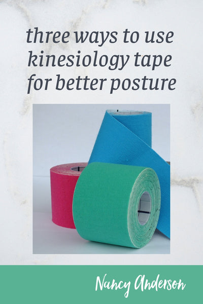 three ways to use kinesiology tape for better posture