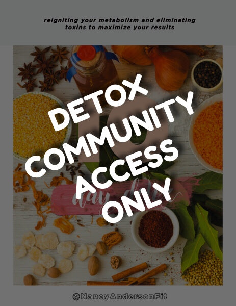 10 Day Detox Community & Coaching Access ONLY