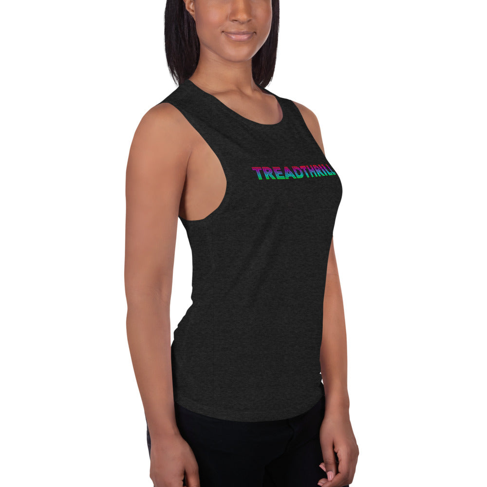 Treadthrill Ladies' Muscle Tank