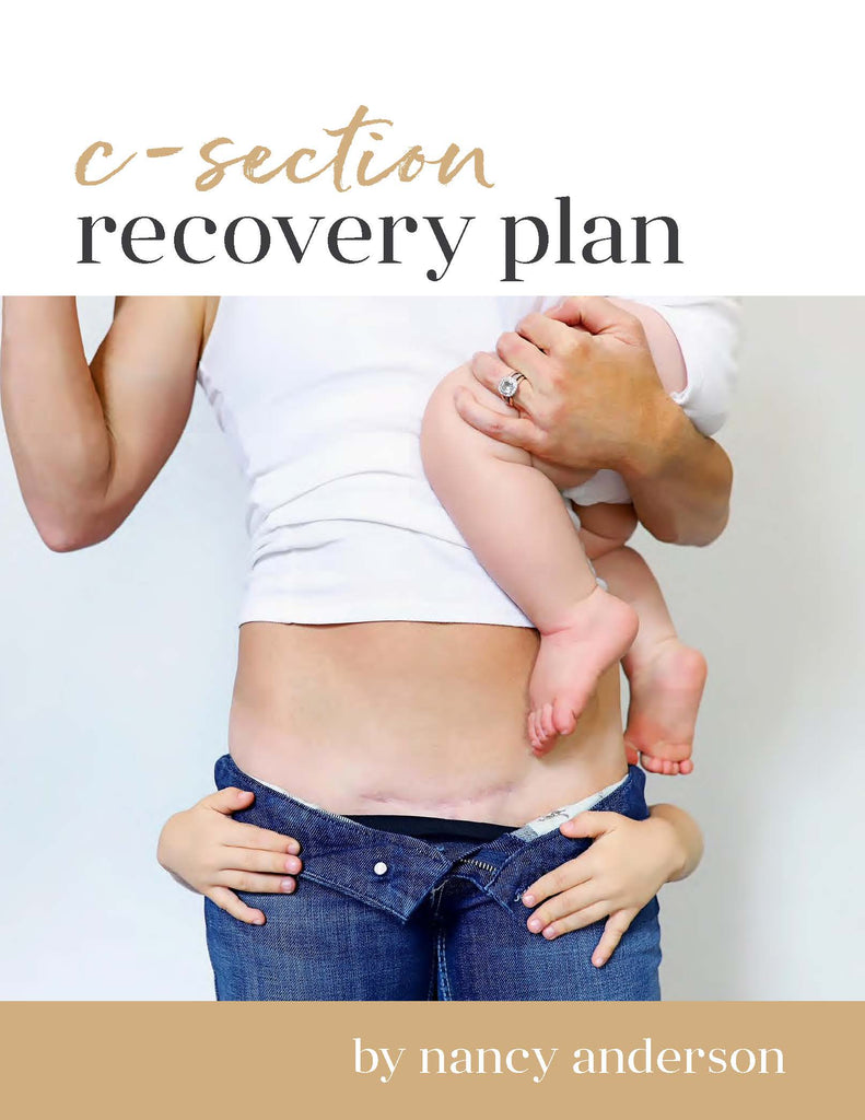 C-Section Recovery Plan