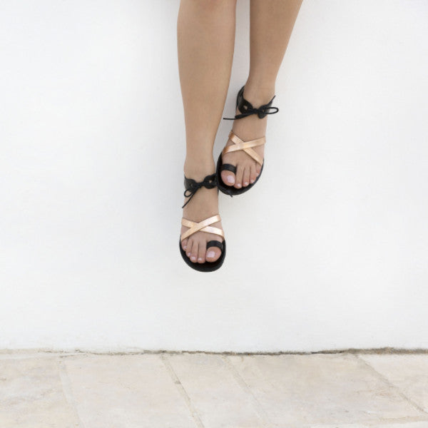 Handcrafted leather sandals by Almyra