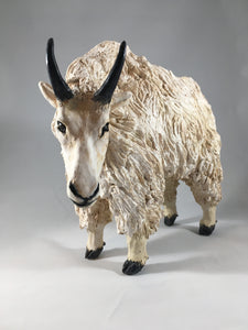 Animal Planter- Rocky Mountain Goat
