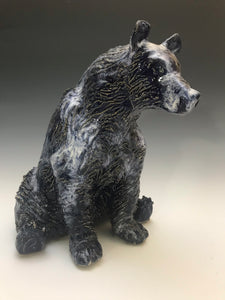 Sculpture- Big Blue Milky Way Bear