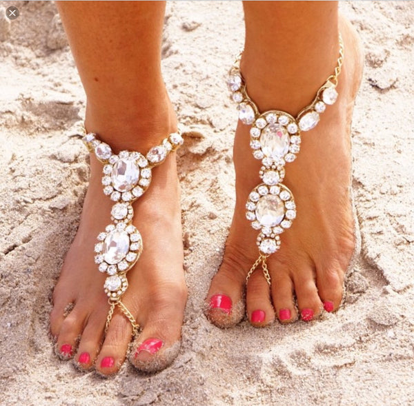 Diamond Fantasy Foot Jewellery