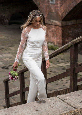 boho wedding city bride