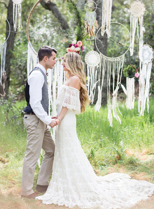 boho hippie wedding inspiration