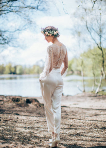 wedding jumpsuit