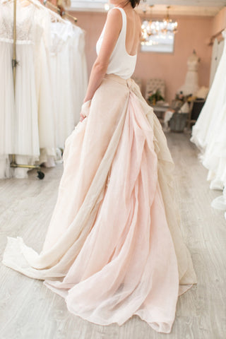 wedding maxi skirt
