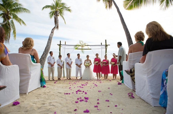 best beach wedding destinations Fiji