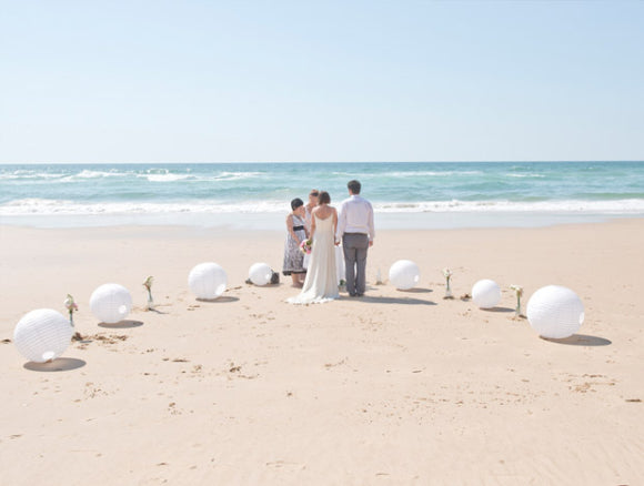 best beach wedding destinations The Algarve