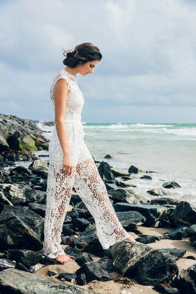 body frock wedding jumpsuit