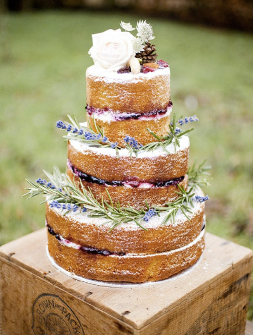boho wedding inspiration cake