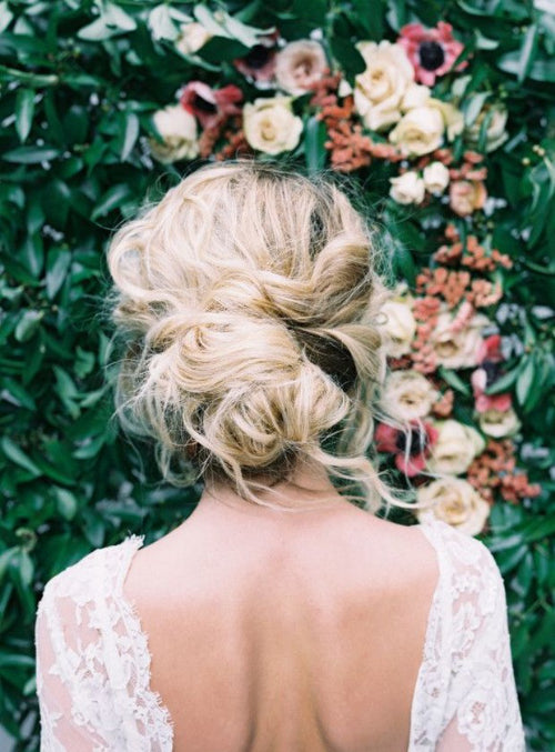 boho wedding inspiration hair