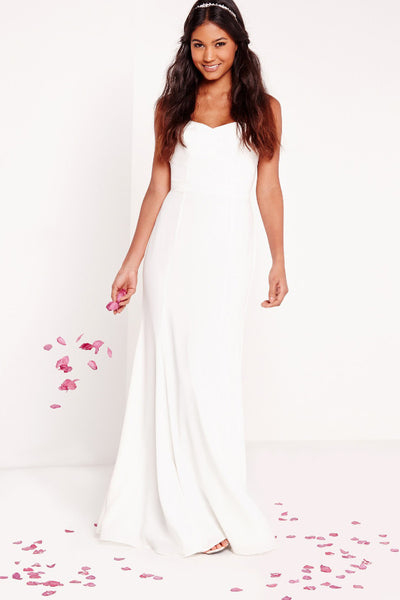 missguided wedding dress