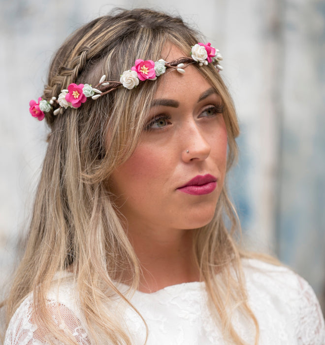 BELLA Mint Flower Crown | Flash Floozy