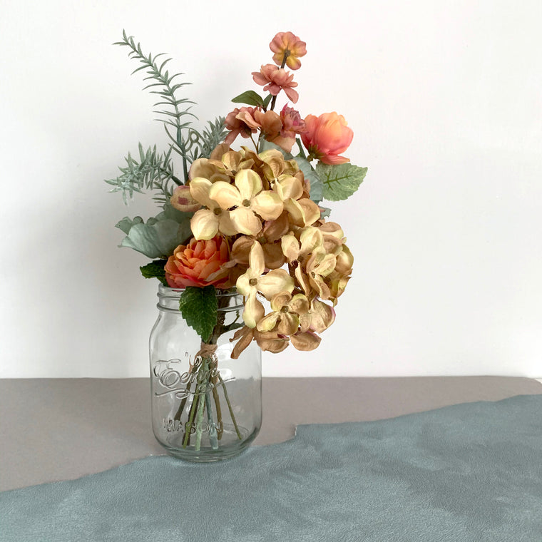 Artificial Flowers in Vase Autumn 32cm