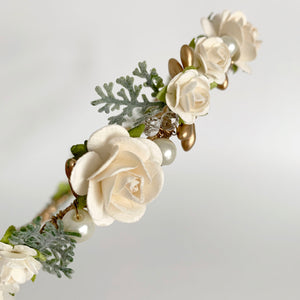 Load image into Gallery viewer, wedding flower crown hair accessories