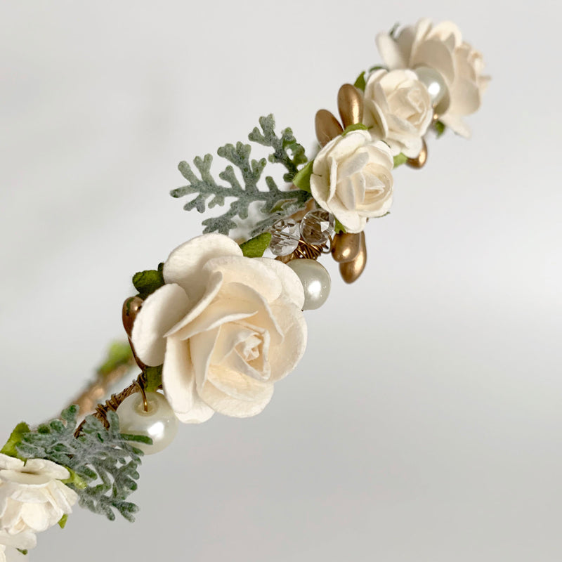 wedding flower crown hair accessories