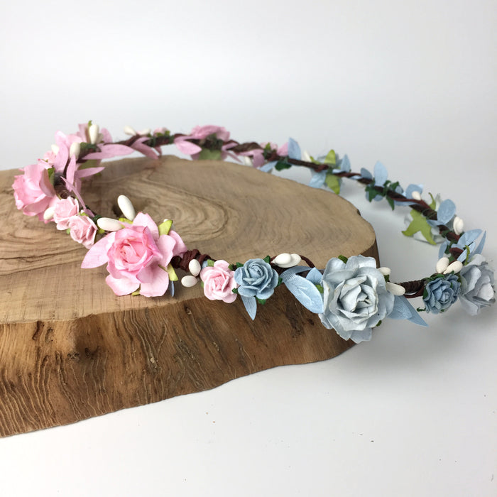 baby shower flower crown