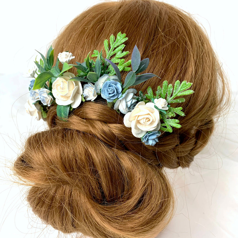 CARRIE Botanical Rose Hair Pins - more cols