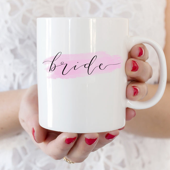 bride wedding mug