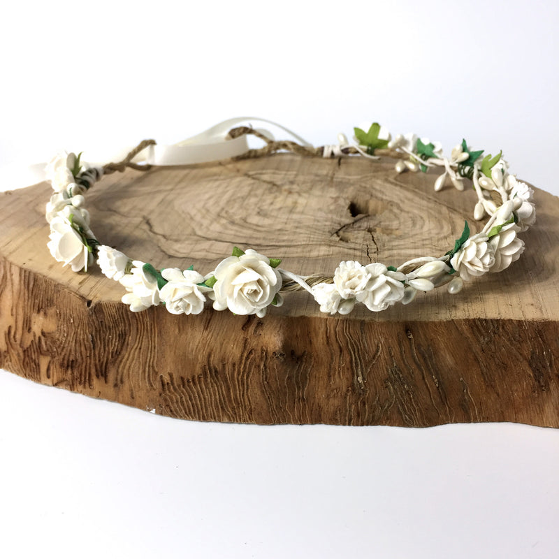 flower crown for wedding