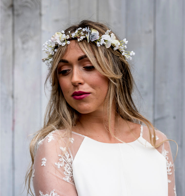 gypsophila flower crown