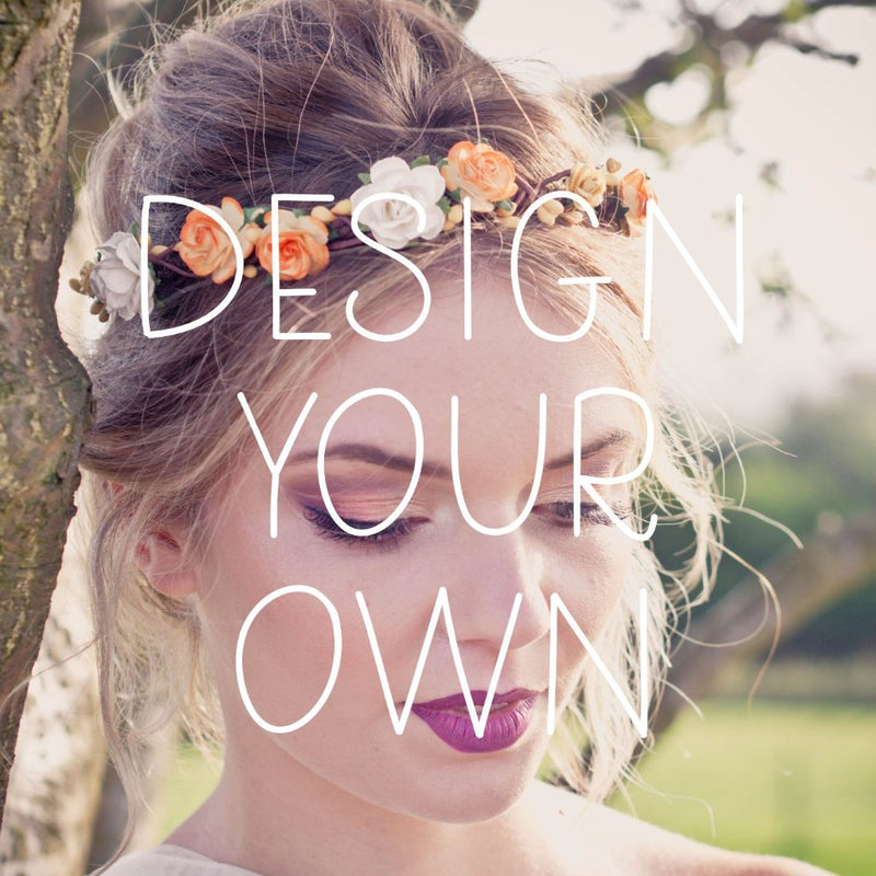 COCO Rose Flower Crown - Design your own